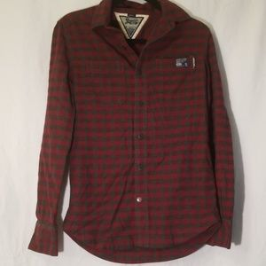 2/$30 superdry button down flannel